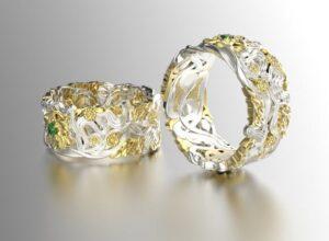 Cómo limpiar las joyas que son tanto de plata como de oro